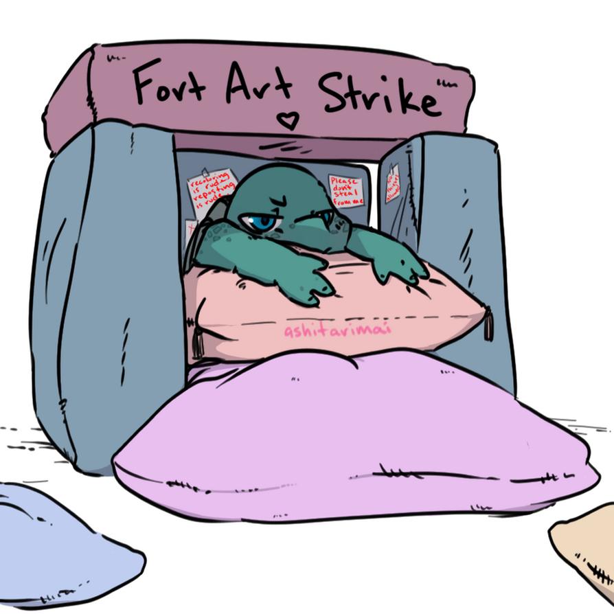 Fort Art Strike by ashitarimai