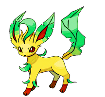 Leafeon by Skylight1989