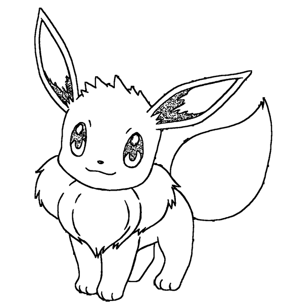 Pokemon Coloring Pages Eevee Evolutions Sylveon Download