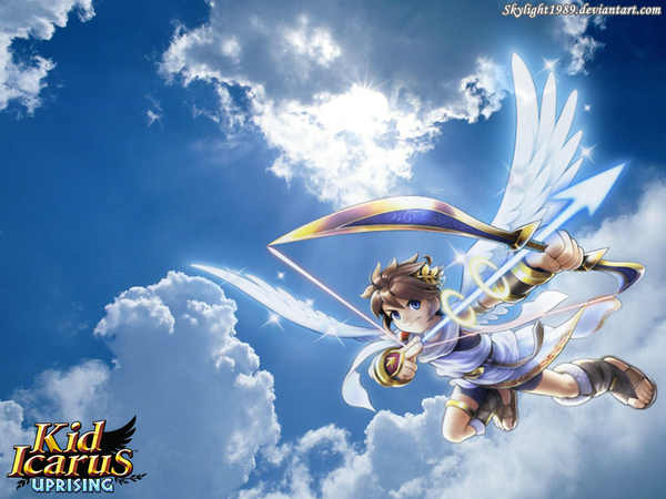 kid icarus uprising pit wallpaper by skylight1989 on