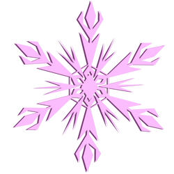 Pink Snowflake by Skylight1989