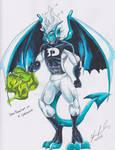 Dark Dan Gargoyle (Phantom) by shaygoyle
