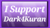 I Support Dark4Kuran by shaygoyle