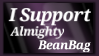I Support Almighty BeanBag by shaygoyle