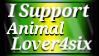I Support Animalover4six by shaygoyle