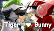 Tiger And Bunny Love by shaygoyle