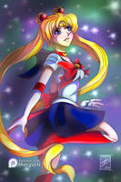 FanArt: Sailor Moon (Premium Content Available) by shaygoyle
