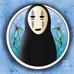 Fanart: No Face (Spirited Away) by shaygoyle