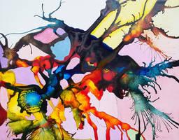 Splatter Brained by bRiANmoSsARt