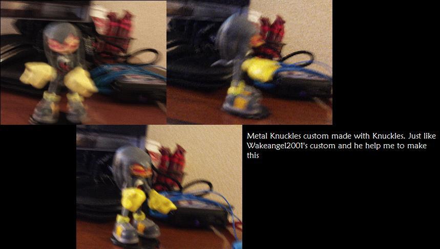 Metal Knuckles custom by DominicSega123