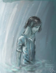 My Darkest Blue by clayic