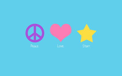 Peace Love Starr by hewtab