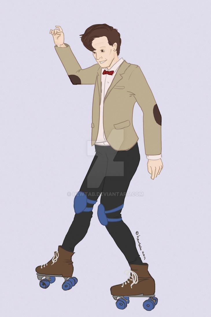 Doctor Skates by hewtab