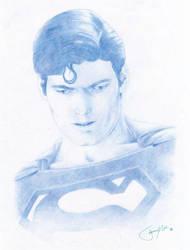Christopher Reeve by JeremyMallin