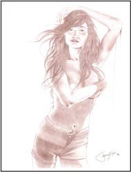Swimsuit Model by JeremyMallin