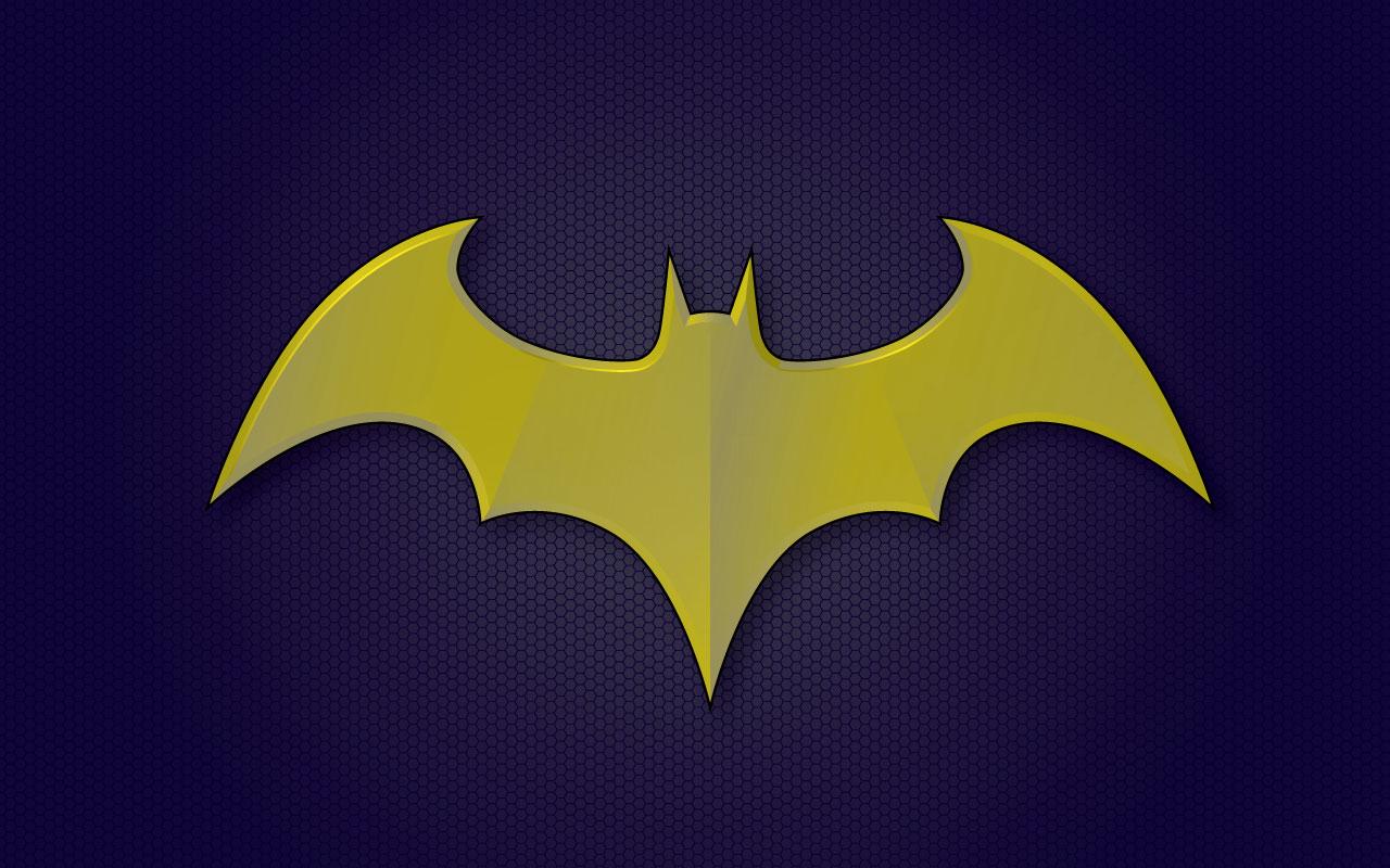 Batgirl Logo Wallpaper