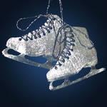 Ice Skates Pendant