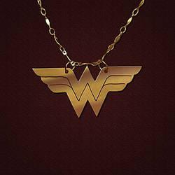 Wonder Woman Pendant by JeremyMallin