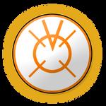 Orange Lantern Icon