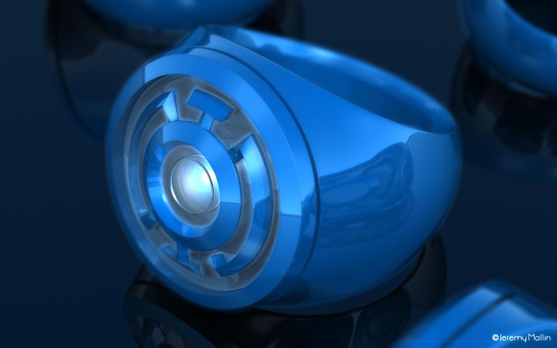 Blue Lantern Ring by JeremyMallin