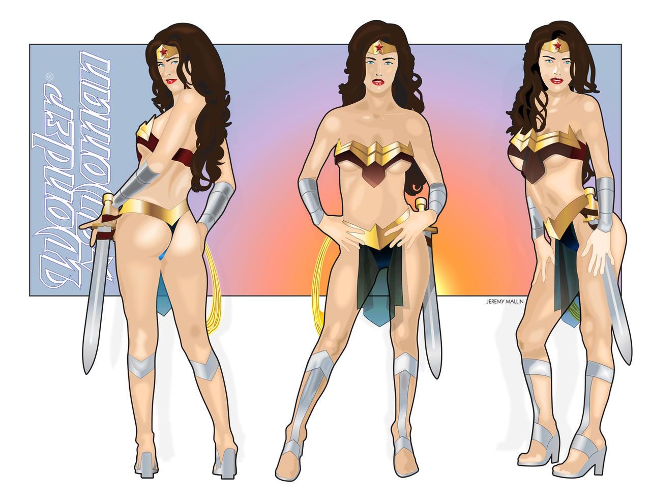 Wonder Women by JeremyMallin