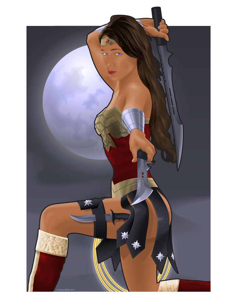 Wonder Woman of Themiscyra by JeremyMallin