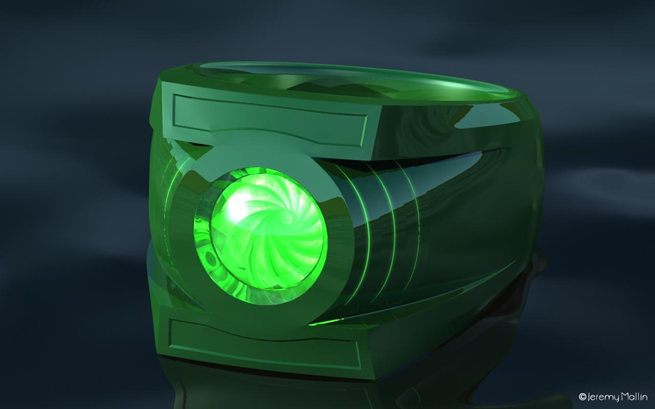 Grren Lantern Power Ring Schematics