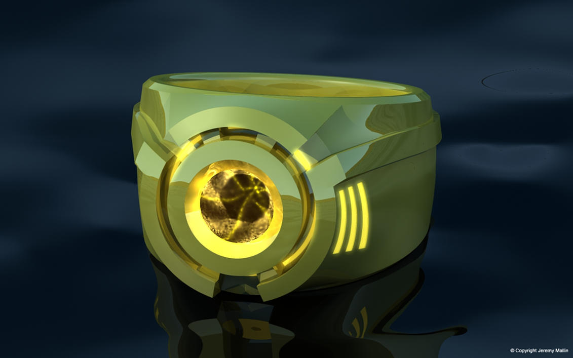 Sinestro Corps Power Ring by JeremyMallin