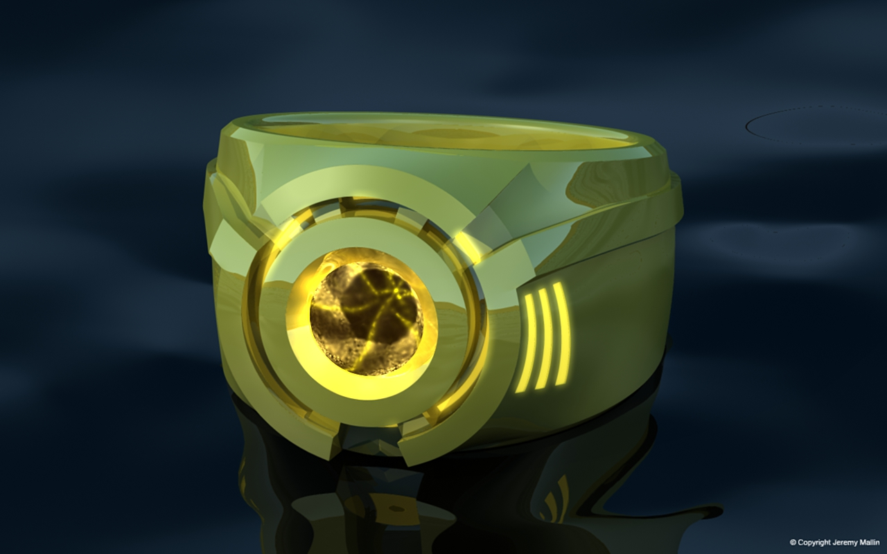 Sinestro Corps Power Ring by JeremyMallin on DeviantArt