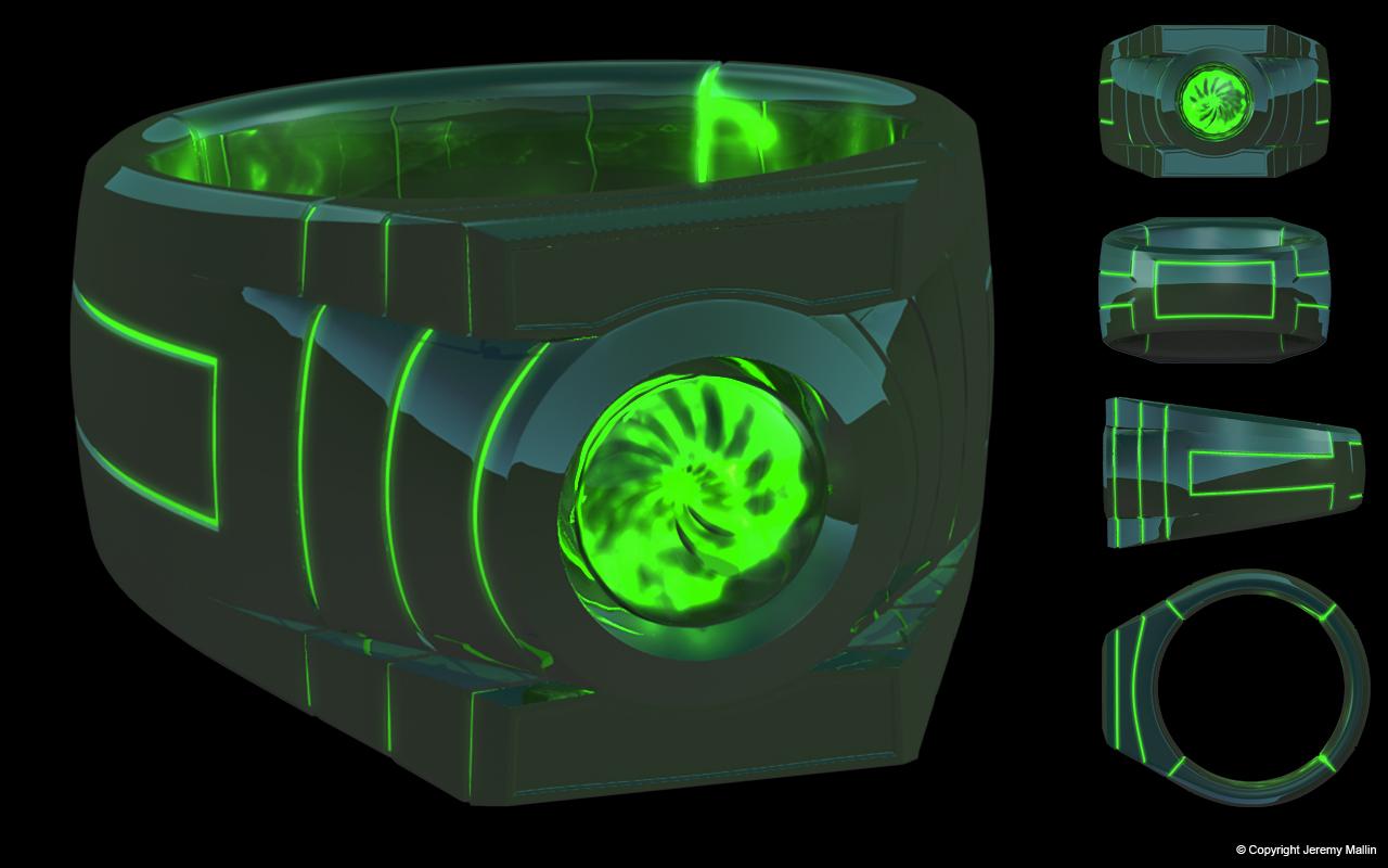 Green Lantern Ring Green Lantern Ring Design