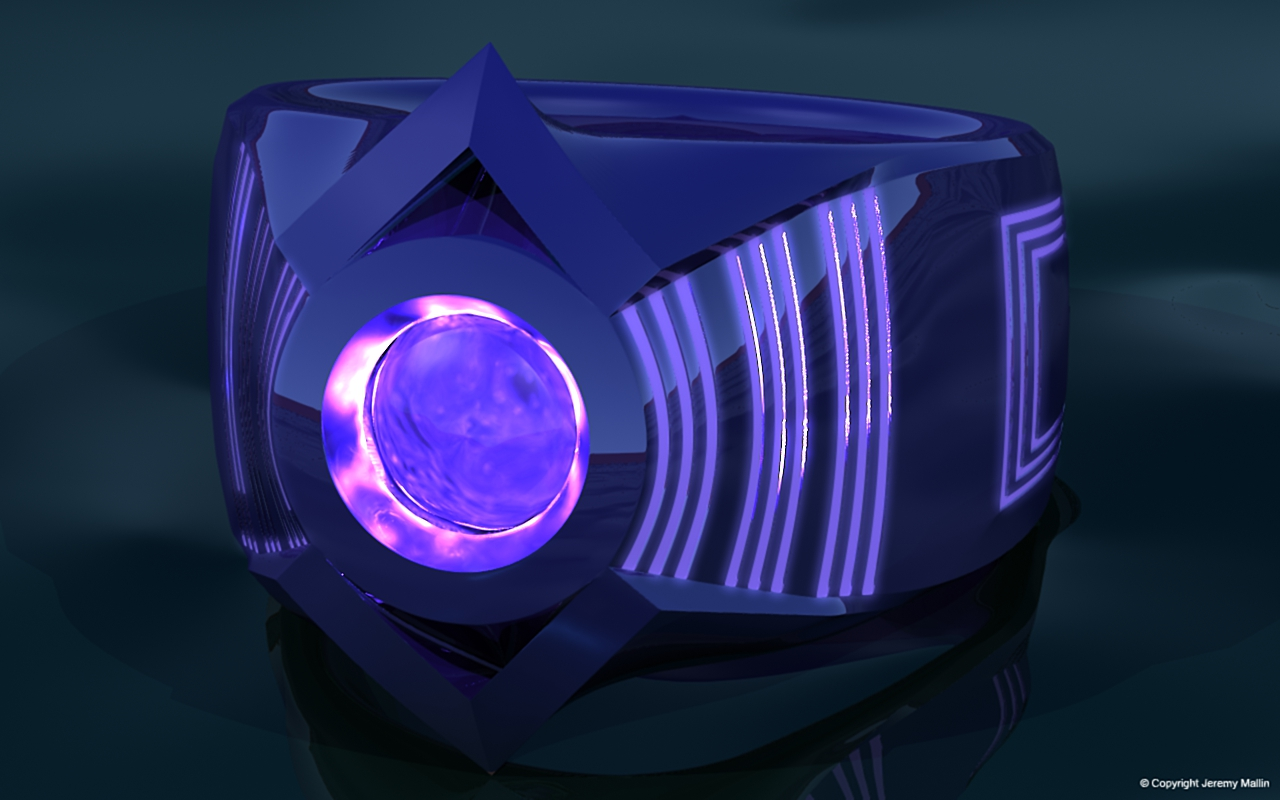 Indigo Tribe Power Ring by JeremyMallin