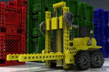 Lego Forklift by JeremyMallin
