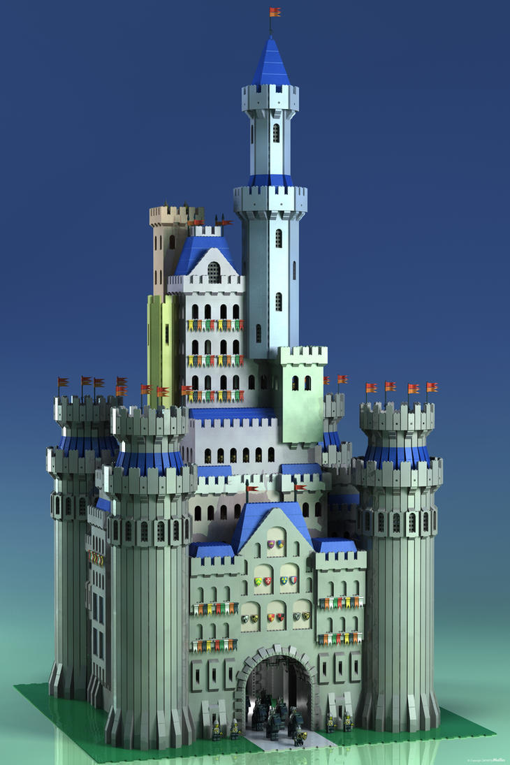 Lego Palace By Jeremymallin On Deviantart