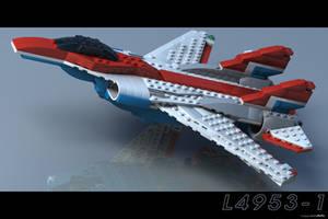 Lego Flight by JeremyMallin