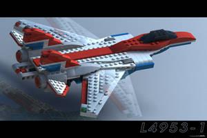 Lego Jet by JeremyMallin