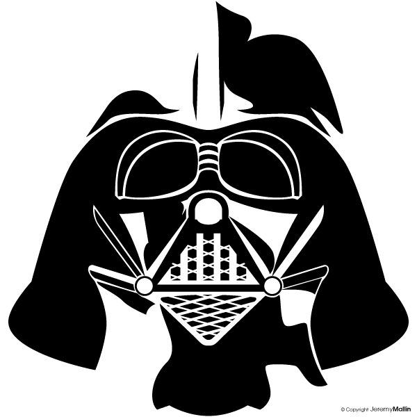 Darth Vader Face Vector Darth vector by jeremymallinDarth Vader Face Vector