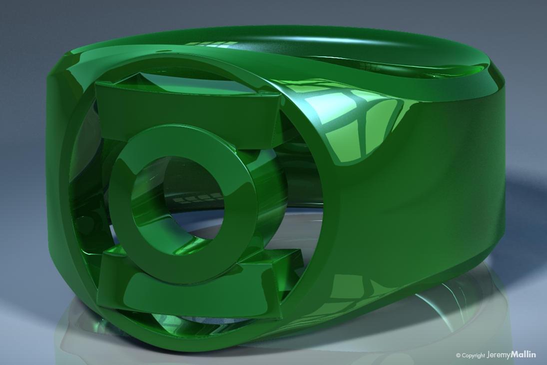 Green Lantern Ring The Green Ring ...