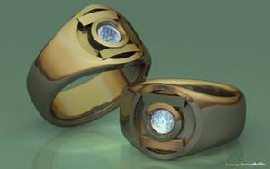 Gold Diamond Lantern by JeremyMallin
