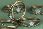 Wonder Woman Diamond Ring