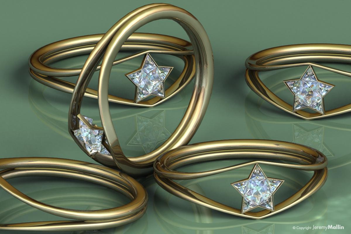 Wonder Woman Diamond Ring by JeremyMallin