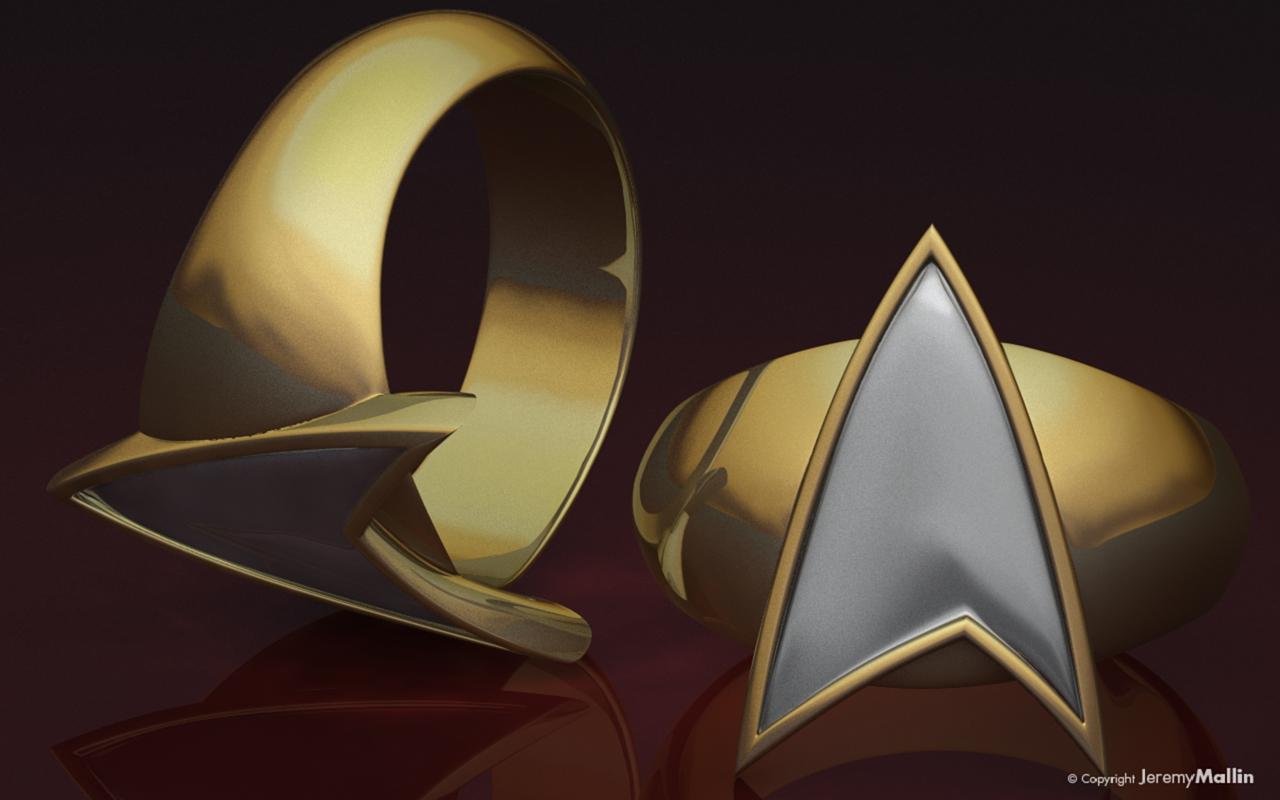 Star Trek TNG Ring By JeremyMallin On DeviantArt