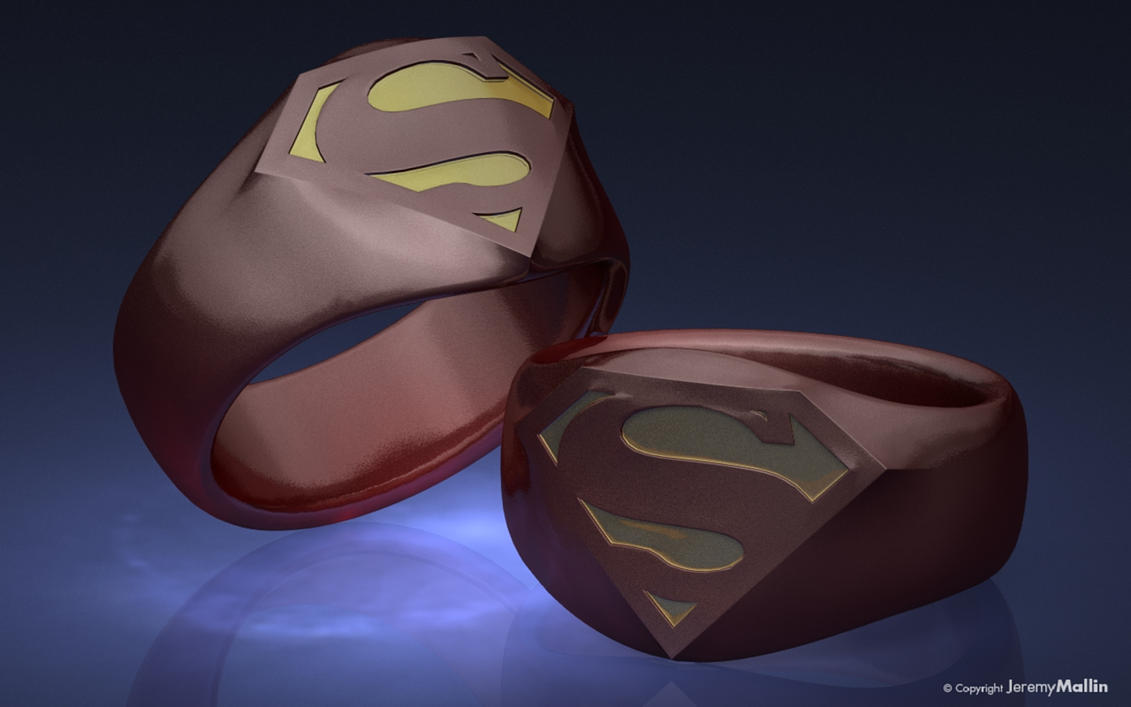 New Superman Ring by JeremyMallin