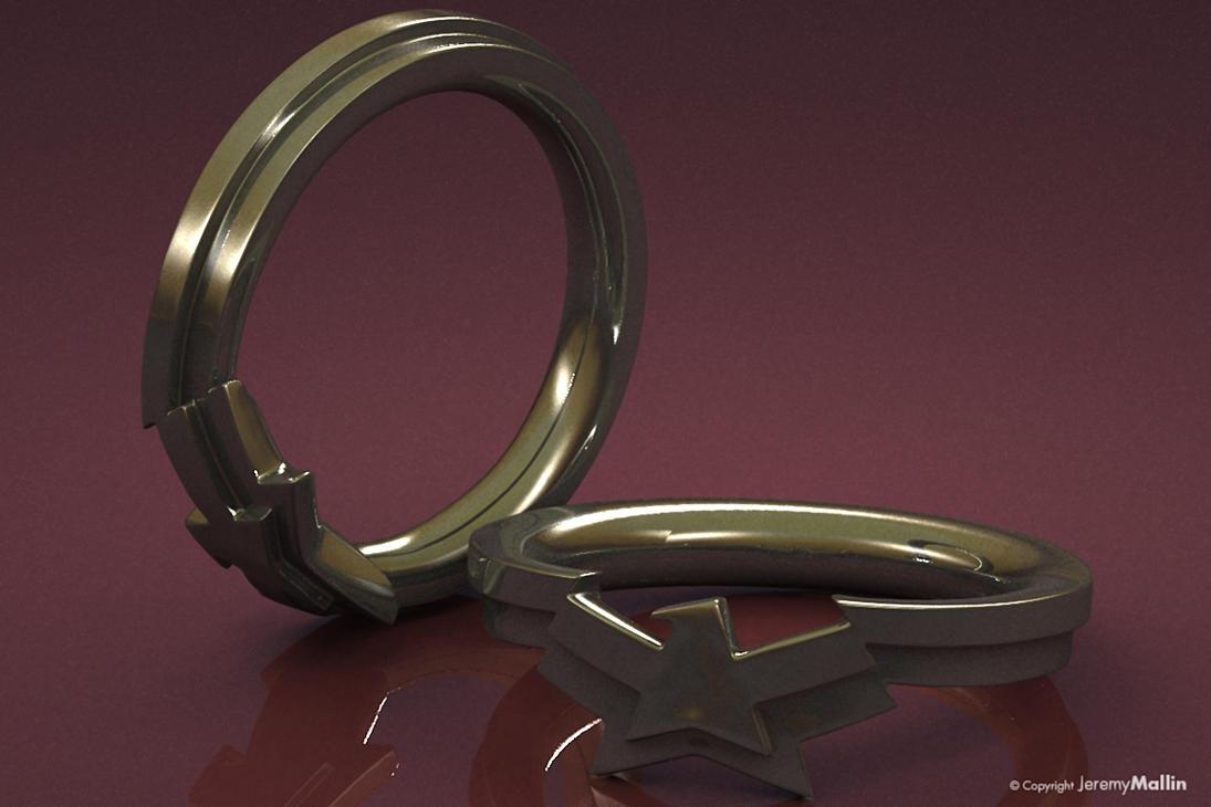 Wonder Woman Ring wonder woman wedding ring Wonder Woman Ring by JeremyMallin