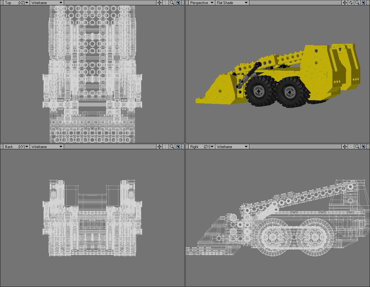 Unfinished Lego on deviantART - Lego 3D model.