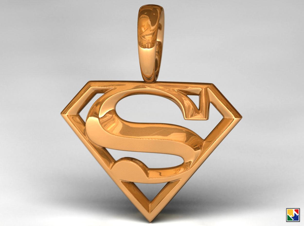 superman pendant by jeremymallin on deviantart