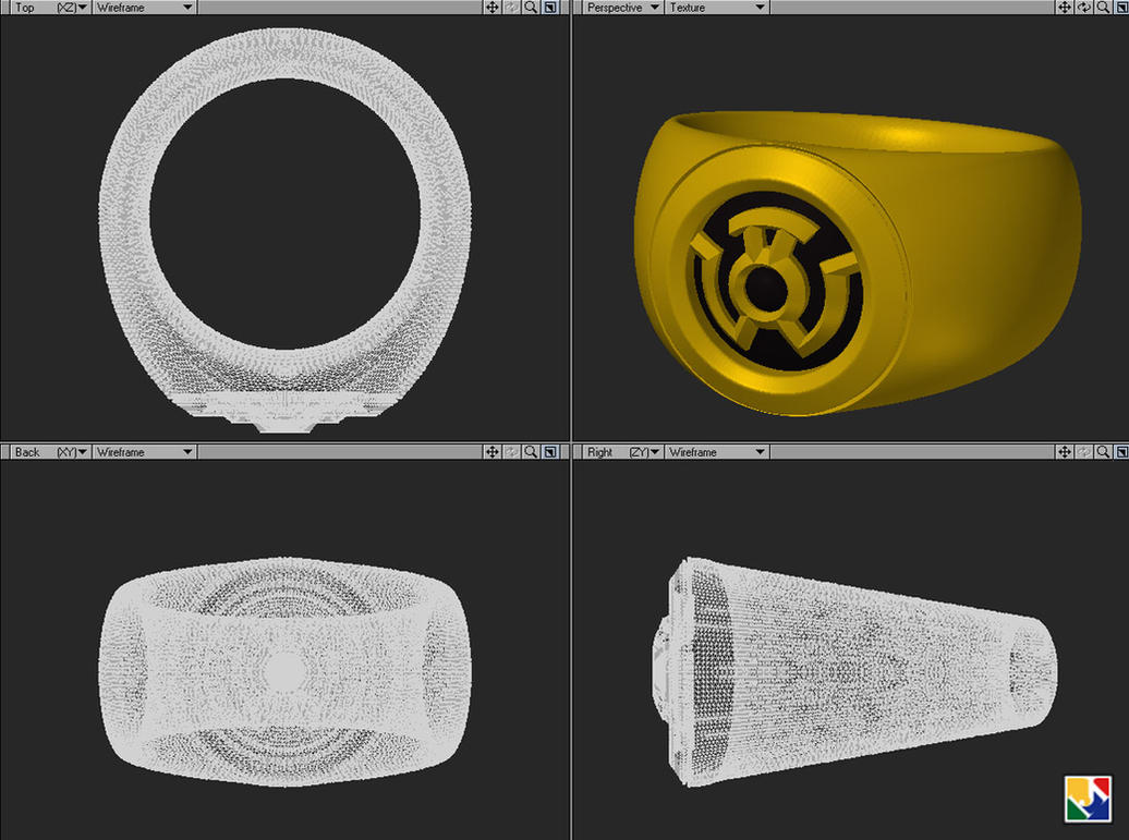 Sinestro Ring For Sale