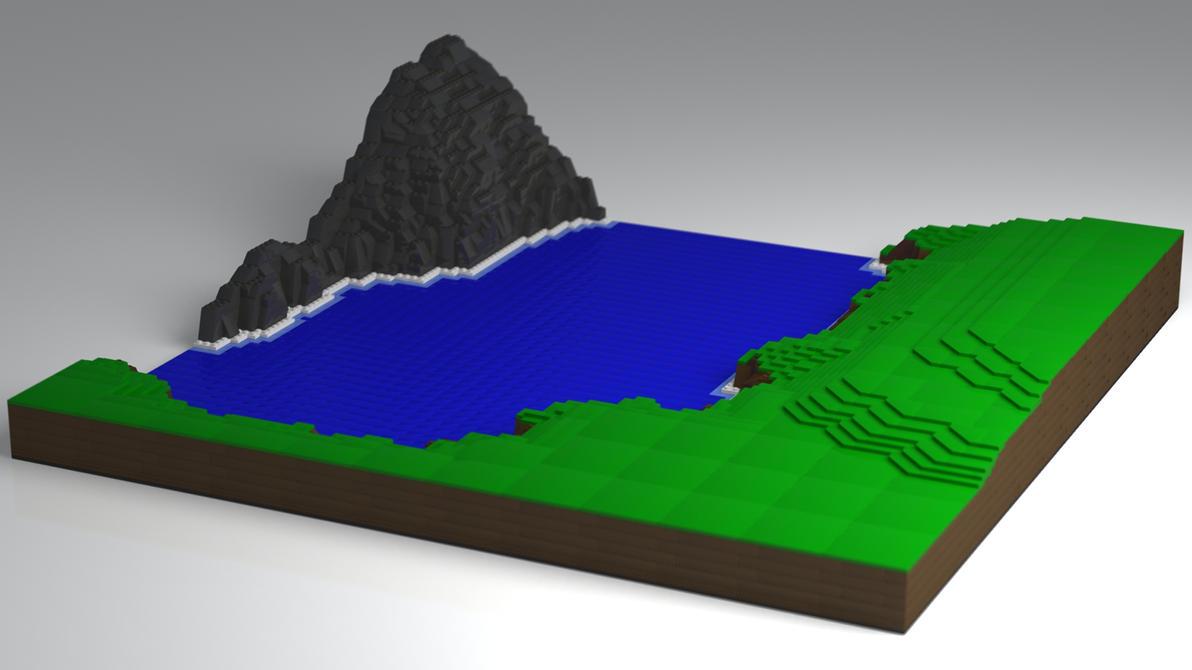 Lego Castle Base WIP by JeremyMallin