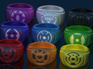 Green Lantern Rings