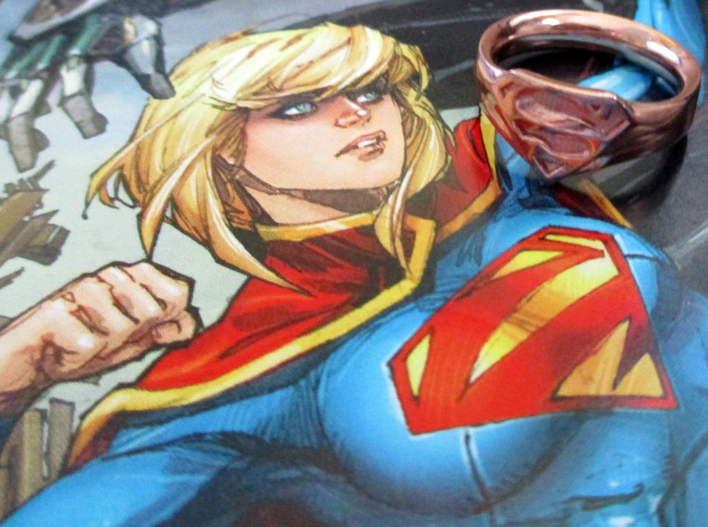 Supergirl Ring by JeremyMallin