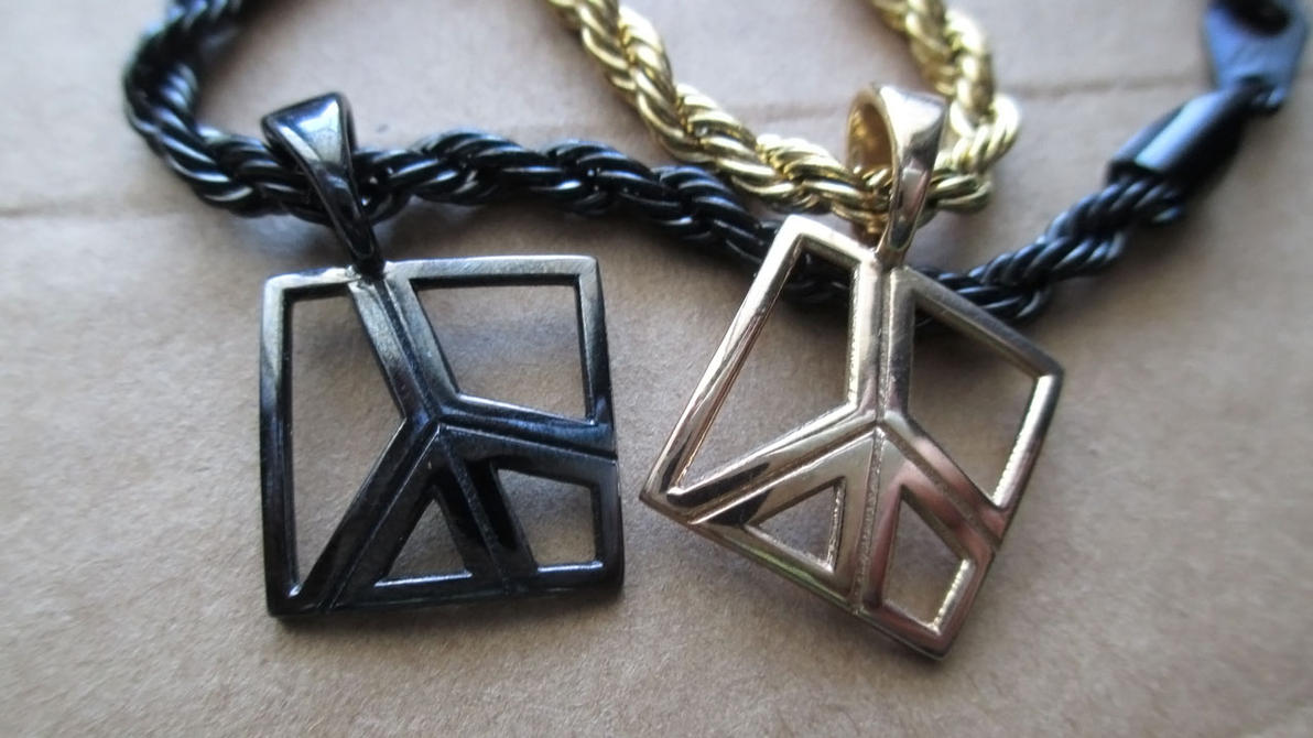Peace Charm Pendants by JeremyMallin